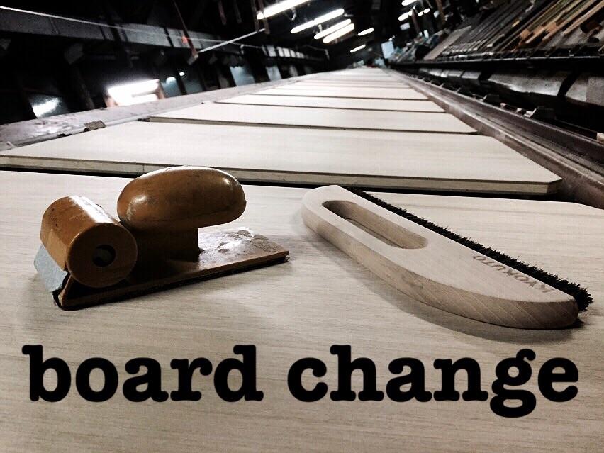 board change!